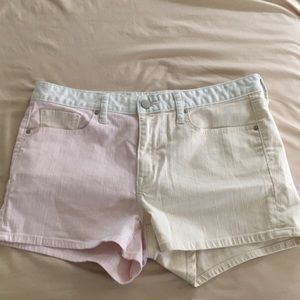 🍦Pink & Cream Colored Shorts